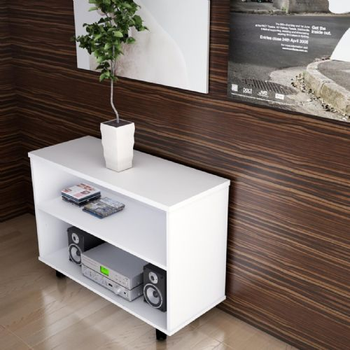 Open Fronted Desk High Storage Unit